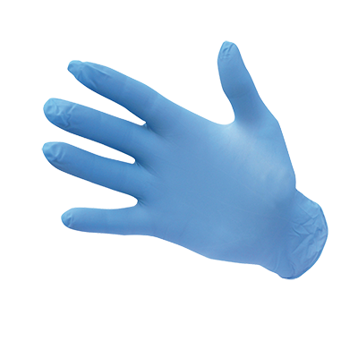 Portwest Powder Free Nitrile Disposable Gloves (Pack of 100)