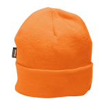 Portwest B013 Hi-Vis Insulated Knit Cap with Thinsulate Lining