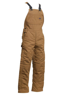Lapco FR Flame Resistant Insulated Cotton Duck Bib Overalls