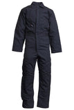 Lapco FR Flame Resistant Insulated Cotton Duck Coveralls Navy