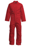 Lapco FR Flame Resistant Insulated Cotton Duck Coveralls Red