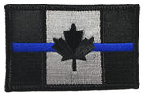 Canada Thin Blue Line Patch - Sew On