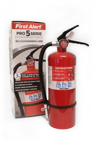 First Alert 5 LB Heavy Duty Plus Fire Extinguisher