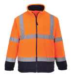 Portwest Hi-Vis Two Tone Fleece - ANSI/ISEA 107-2015 TYPE R CLASS 3