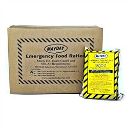 Mayday Emergency Food Ration Food Bar - 2400 Calories (24 Piece)