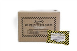 Mayday Emergency Food Ration Food Bar - 400 Calorie (110 Piece)