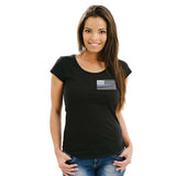 Women's T-Shirt - Thin Blue Line Flag