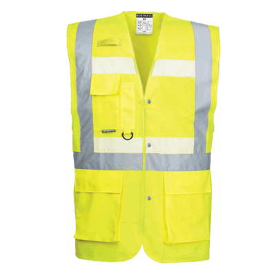 Portwest Glowtex Executive Vest - ANSI/ISEA 107-2015 Type R Class 2