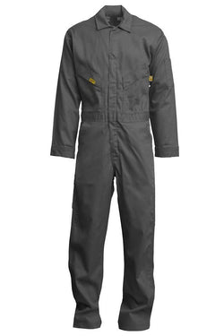 Lapco Flame Resistant Deluxe Coveralls, 88/12 Blend