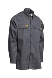 Lapco FR Flame Resistant Gold Label Uniform Shirt Gray