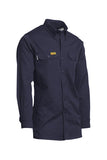 Lapco FR Flame Resistant Gold Label Uniform Shirt Navy