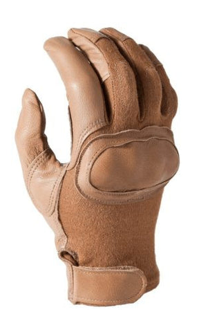 HWI HKTG300B Berry Compliant Hard Knuckle Tactical Glove, Tan
