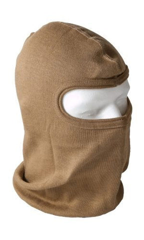HWI HWH300 Heavyweight Nomex Balaclava Hood, Coyote Brown