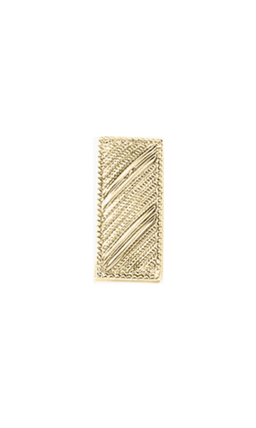 "Blackinton J92 Small Lieutenant Bars, Embossed (3/4"" W)"