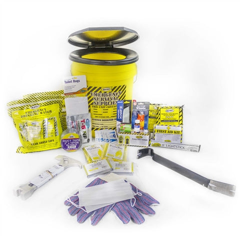 Mayday 2 Person Deluxe Emergency Honey Bucket Kit