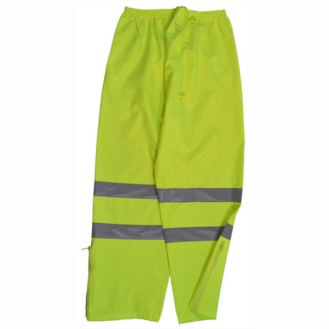 Petra Roc LPP-CE ANSI/ISEA 107-2010 Class E Lime Waterproof Rain Draw Strings Pants