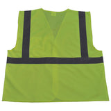 Petra Roc LV2-EC/LVM2-EC ANSI/ISEA 107-2010 Class 2 Economy Safety Vest with Velcro Closure