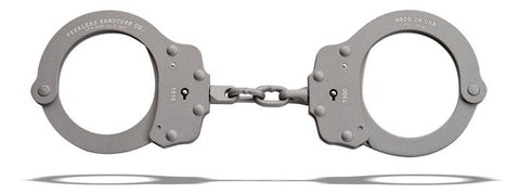 Peerless Model 730CS - Superlite Chain Handcuffs, Gray
