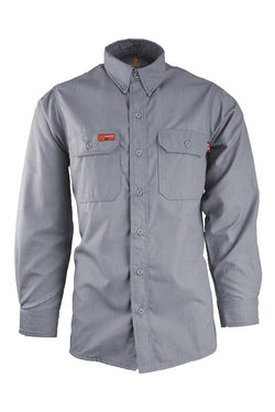 Lapco Nomex Comfort FR Uniform Shirt Gray