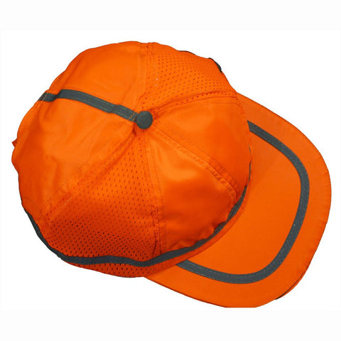 Petra Roc OBC-S1 ANSI Orange Hi Vis Baseball Cap Style Safety Cap