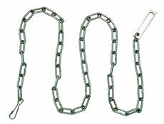 "Peerless Model PSC60 - 60"" Security Chain, Nickel Finish"