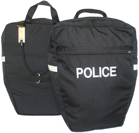 Inertia Designs Police Pannier Side Mount Bike Rack Bag (Pair)