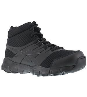 "Reebok RB4507 Men's Dauntless Ultra-Light Seamless 5"" Athletic Hiker with Side Zipper"