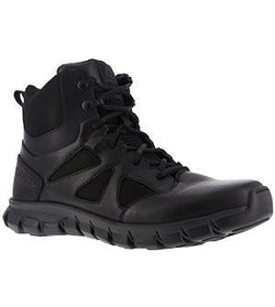 "Reebok RB8605 Men's Sublite Cushion 6"" Tactical Boot with Side Zipper"