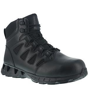 "Reebok RB831 Women's ZigKick Tactical 6"" Tactical Boot with Side Zipper"