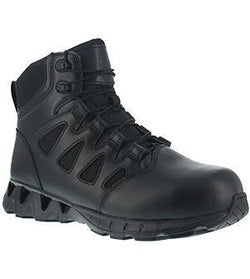 "Reebok RB8631 Men's ZigKick 6"" Tactical Boot with Side Zipper"