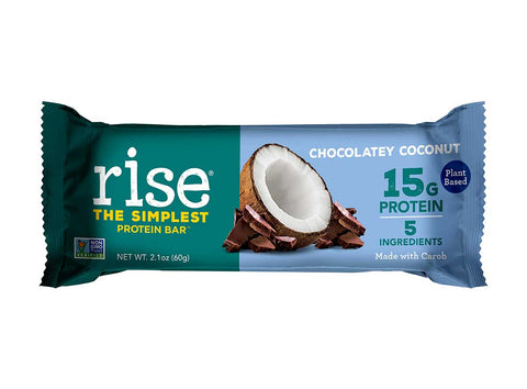 Chocolatey Coconut Protein Bars