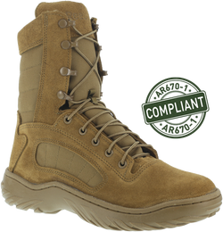 "Reebok CM992 Women's 8"" Fusion Max Tactical Boot, Coyote, AR670-1 Compliant"