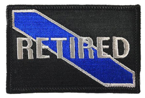 Retired Patch - Sew On
