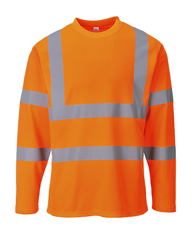 Portwest Hi-Vis T-Shirt Long Sleeves - ANSI/ISEA 107-2015 Type R Class 3