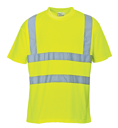Portwest Hi-Vis Polyester T Shirt - ANSI/ISEA 107-2015 Type R Class 2