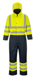Portwest Hi-Vis Contrast Coverall Lined - ANSI/ISEA 107-2015 Type R Class 3