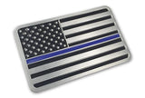 Thin Blue Line Car Emblem