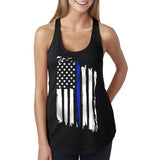 Women's Tank - Thin Blue Line Flag
