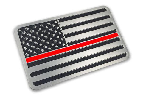 Thin Red Line Car Emblem