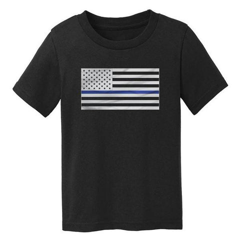 Toddler Tee - Thin Blue Line Flag