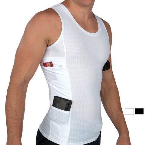 Men's Executive Concealed Carry Tank Top