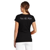 Women's T-Shirt - Thin Blue Line He's All Mine