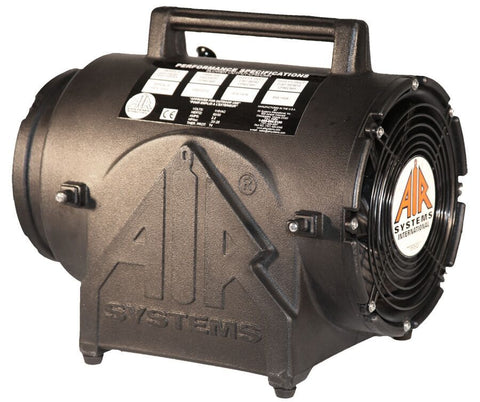 "Air Systems 8"" CVF Explosion-Proof Axial Fan"