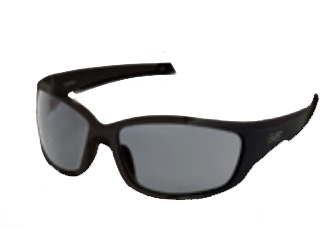 Body Specs 2ND ELEMENT Sunglasses, Black Frame/Smoke Lens