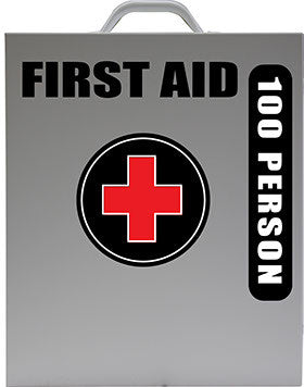 100 Person First Aid Kit