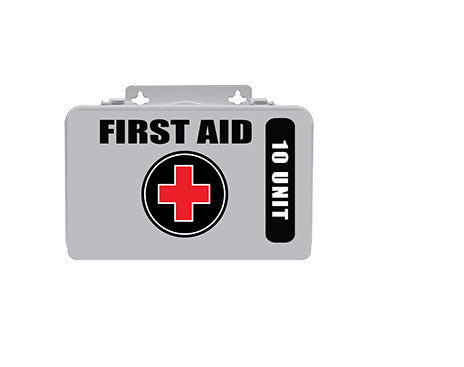 10 Unit First Aid Kit