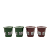 4-Pack Eco-Fill Reusable Coffee Pods