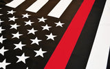 Thin Red Line American Flag, 3 x 5 Ft