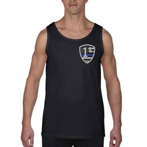 Men's Tank – 1* Asterisk Thin Blue Line