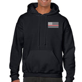 Hoodie - Fire Department Thin Red Line